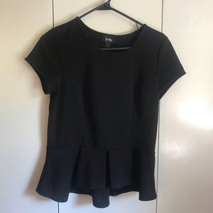 Black Top - Great for Formal Wear!
